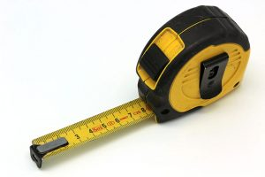 mesurer la limite du flou
