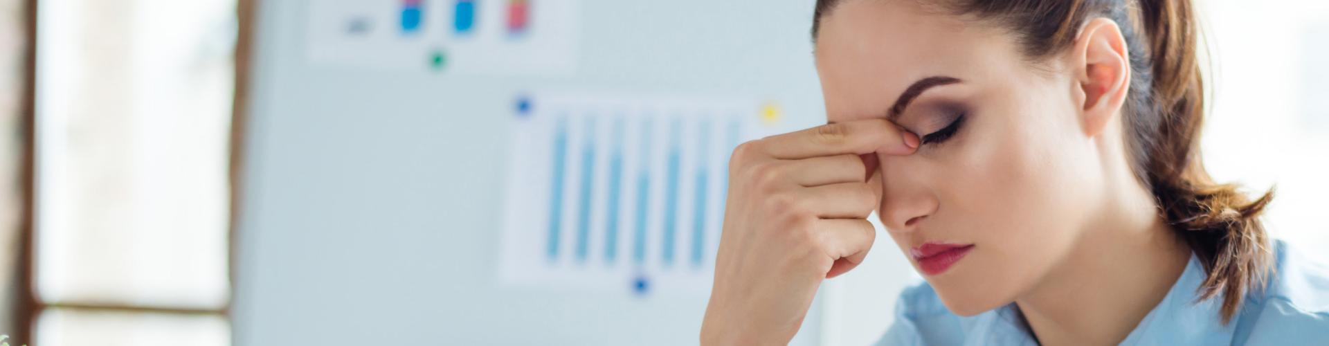 Fatigue visuelle fatigue oculaire numérique